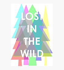 WALK THE MOON - Lost in the Wild Photographic Print