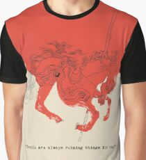 People Are Always Ruining Things Graphic T-Shirt
