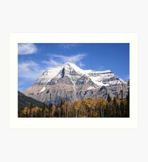 Mt. Robson Art Print