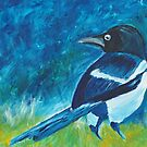 magpie by luckylittle