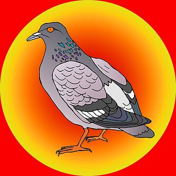 Communist Pigeon by cosmicesoteric