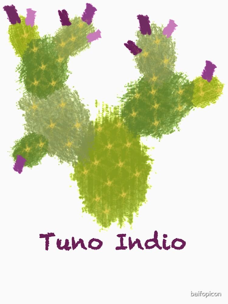 Fuerteventura Tuno Indio Cactus by baifopicon