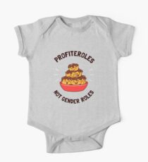 Profiteroles Not Gender Roles One Piece - Short Sleeve