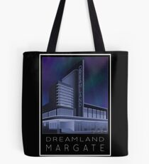 Scooter Poster Dreamland Margate Tote Bag