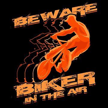 BMX Biker by nerdalertshirts