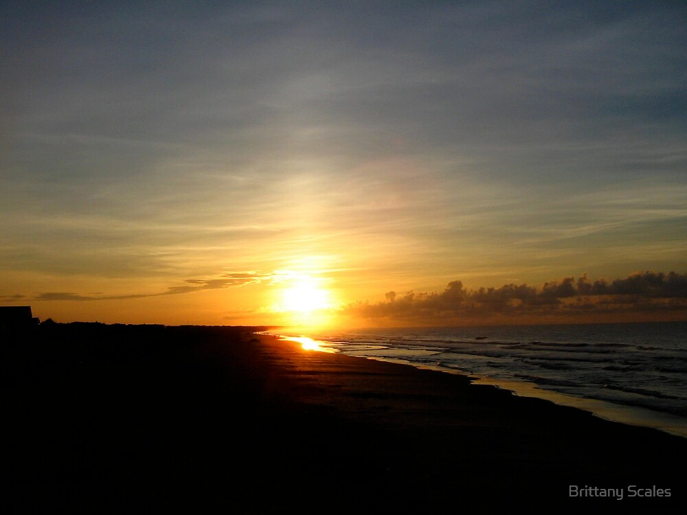 Isle of Palms Sunrise by Brittany Scales