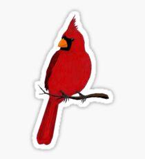Cardinalis Sticker