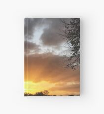 Sunset over Anfield  Hardcover Journal
