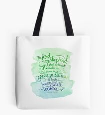 The Lord As My Shepherd Tote Bag