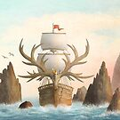 The Antlered Ship_Cover by Eric Fan