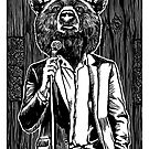 Stand Up Comedy Bear by ZugArt