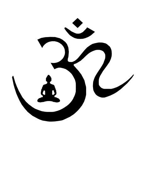 Omm Symbol T Shirt Buddhismus Buddha Poster By Noritees Redbubble