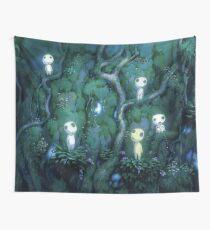 Ghibli spirits kodama Wall Tapestry