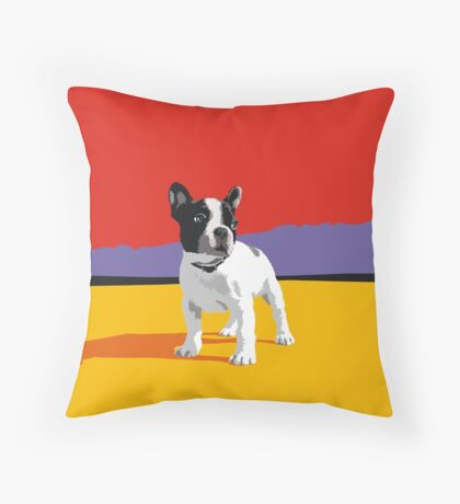 BT Throw Pillow