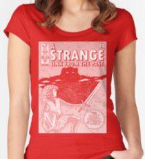 STRANGE PAST for dark garments Women's Fitted Scoop T-Shirt