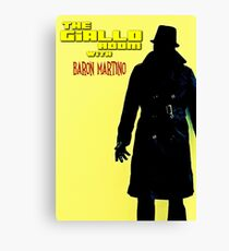THE GIALLO ROOM with Baron Martino Canvas Print