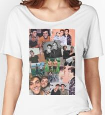 Dolan Twins Cute Collage  Women's Relaxed Fit T-Shirt