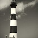 Bodie Island Lighthouse (Mono) by Nikki Moore