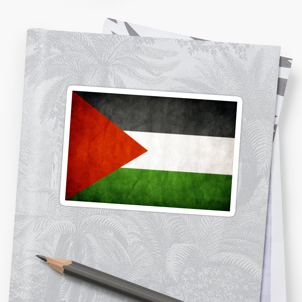 palestine flage stickers by murebky redbubble