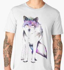 Galaxy Wolf Men's Premium T-Shirt