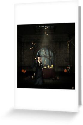 Happy Halloween My Dear   by Lisa  Weber