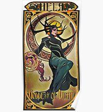 Hela Goddess of Death Poster