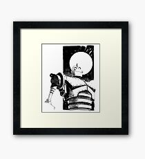 iron giant - waterbase Framed Print