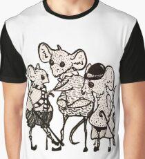 Three Blind Mice  Graphic T-Shirt