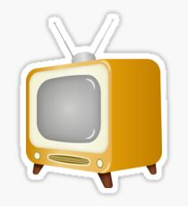 The Old TV Sticker