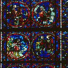 Stained Glass Story of Joseph Cathedral Poitiers France 19840824 0014  by Fred Mitchell