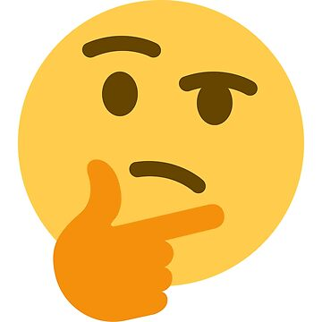 Thinking Emoji by MrFoxhead