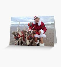 Christmas Hasselhoff Greeting Card