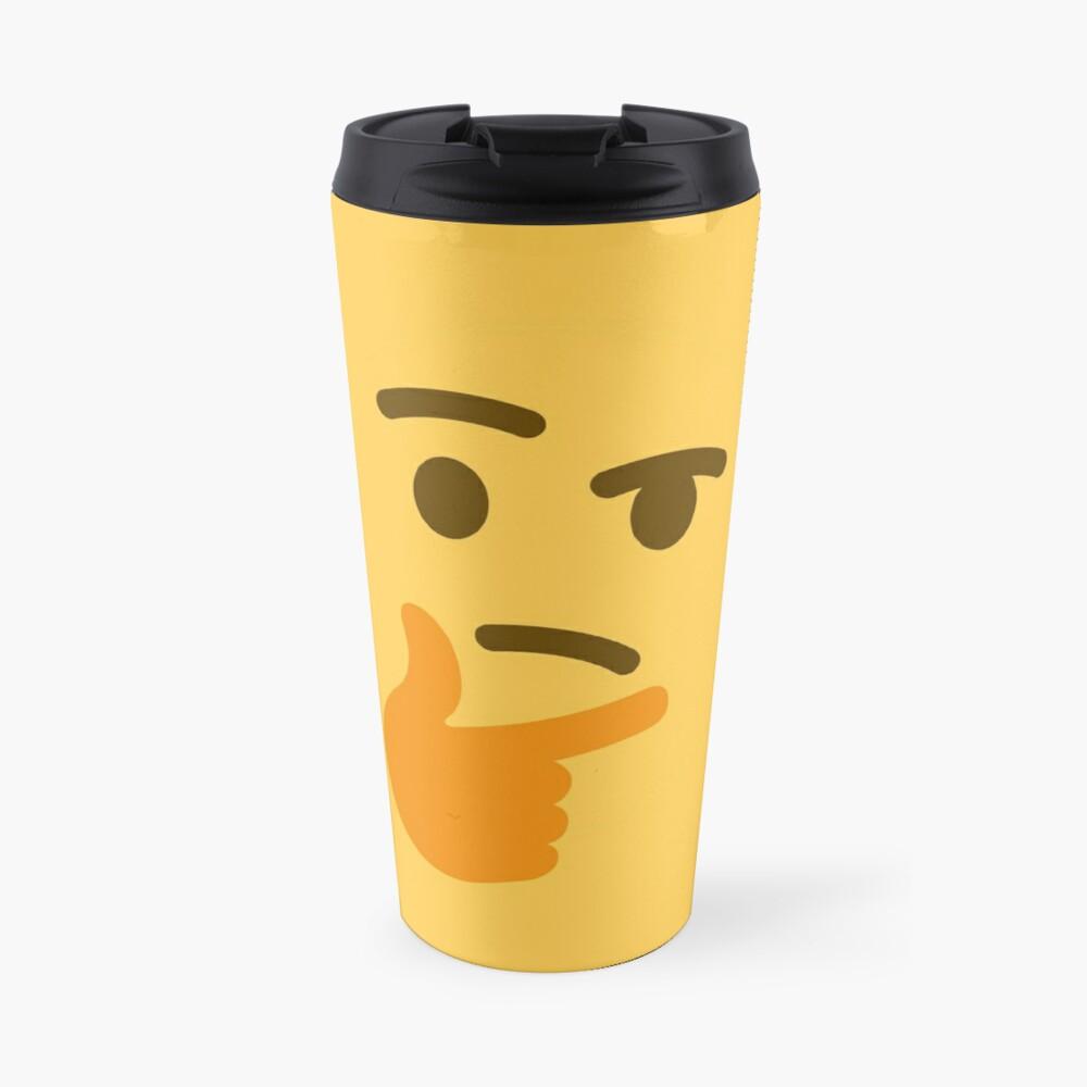 Emoji denken Thermobecher