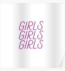 Girls, Girls, Girls  Poster