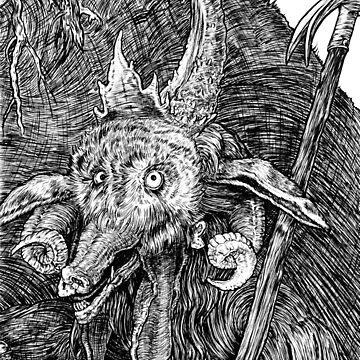 The Devil by redbulby