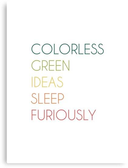 Colorless Green Ideas Sleep Fu...
