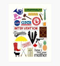 How I Met Your Mother Art Print
