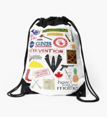 How I Met Your Mother Drawstring Bag