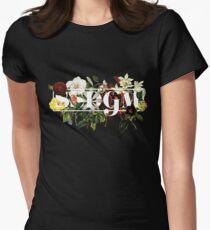 SSDGM Murderino Flower Illustration My Favorite Murder Women's Fitted T-Shirt