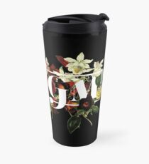 SSDGM Murderino Flower Illustration My Favorite Murder Travel Mug
