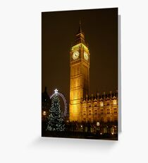 Big Ben ticks Goodnight Greeting Card