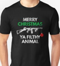 Merry Christmas Ya Filthy Animal - Funny X-Mas Tee Unisex T-Shirt