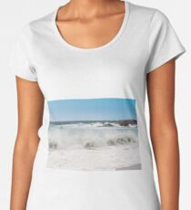 Sandwood Bay Blue Ocean Women's Premium T-Shirt