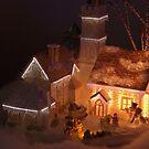 A piece from Dickens Village by Sean Jansen