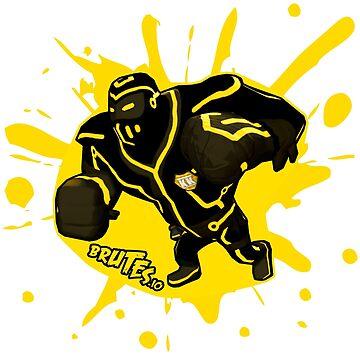 Brutes.io (Ninjabrute Cyberklan Yellow) by brutes