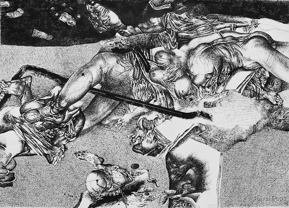 """""""Desastres dela guerra"""" by Pavel Pop"""