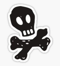 All Time Low - Skull and Bones Sticker