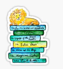 Narnian Book Stack Sticker