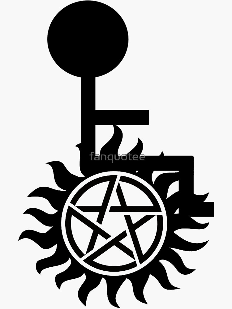 Supernatural Abilities Wheelchair Symbol by fanquotee