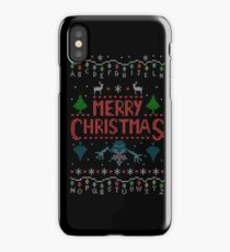 Stranger Merry Christmas Ugly Holiday Crewneck Sweatshirt iPhone Case/Skin
